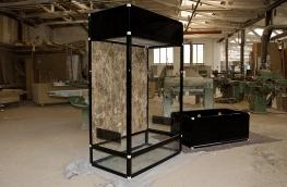 Das BaoBab Terrarium mit separaten Unterschrank.