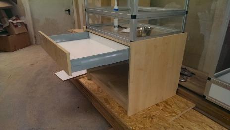 Terrarium Unterschrank Schublade